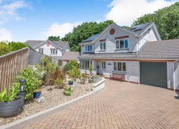 Thumbnail 4 bed detached house for sale in West Trewirgie Road, Redruth, Cornwall