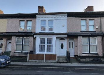 Thumbnail 2 bed terraced house to rent in Moore Street, Bootle