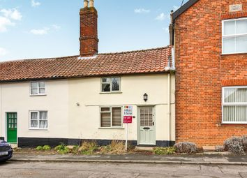 Thumbnail 1 bed terraced house for sale in Melton Road, Wymondham