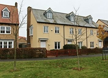 Thumbnail 3 bed end terrace house for sale in Swansley Lane, Lower Cambourne, Cambourne, Cambridge