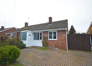 Thumbnail 3 bed semi-detached bungalow for sale in 12 Priory Crescent, Roade, Northampton, Northamptonshire