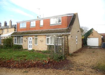 Thumbnail 4 bed property for sale in Lincoln Road, Deeping Gate, Peterborough