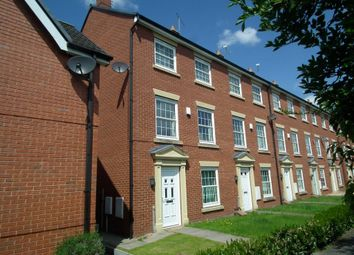 Thumbnail 3 bed town house to rent in Carter Close, Nantwich