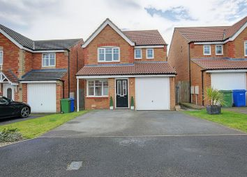 Thumbnail 3 bed detached house for sale in Heather Lea, Blyth