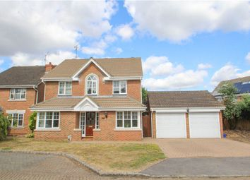 Thumbnail 4 bedroom detached house for sale in Waterloo Close, Camberley, Surrey