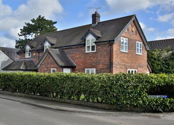Thumbnail 4 bed detached house to rent in Church Minshull, Nantwich