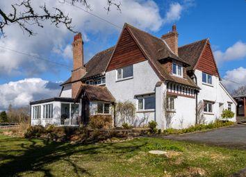 Thumbnail 4 bed detached house for sale in Cefnllys Lane, Llandrindod Wells