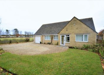 Thumbnail 3 bed detached bungalow for sale in Horcott Road, Fairford, Gloucestershire.