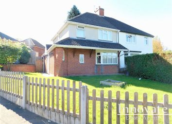 Thumbnail 3 bed semi-detached house to rent in Rathbone Road, Bearwood, Smethwick