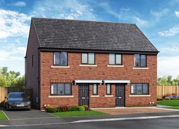 """Thumbnail 3 bed property for sale in """"The Caddington"""" at Close Street, Hemsworth, Pontefract"""
