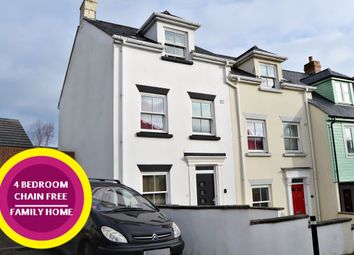 Thumbnail 4 bed town house for sale in Chapmans Way, St Austell