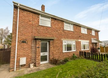 Thumbnail 3 bed semi-detached house for sale in Abbey Crescent, Swineshead, Boston