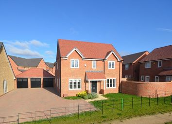 Thumbnail 4 bed detached house for sale in Home Farm Drive, Buckton Fields, Northampton