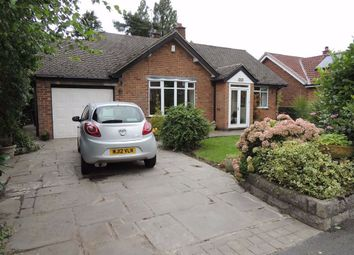 Thumbnail 4 bed detached bungalow for sale in Mostyn Road, Hazel Grove, Stockport