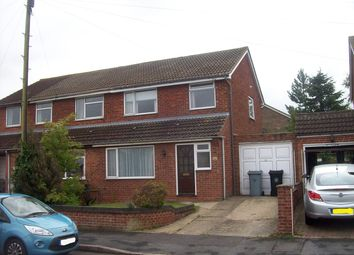 Thumbnail 3 bed semi-detached house to rent in Churchill Road, Stamford
