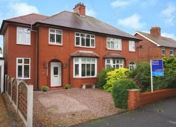 Thumbnail 3 bed semi-detached house for sale in Coppice Road, Willaston, Nantwich
