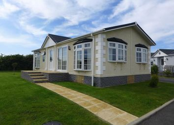 Thumbnail 2 bed mobile/park home for sale in Eastmoor Park, Cuffern, Roch, Haverfordwest