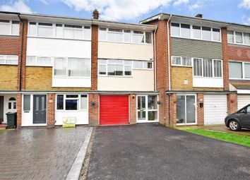 Thumbnail 3 bed town house for sale in Cedar Drive, Sutton At Hone, Dartford, Kent