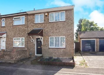Thumbnail 3 bed semi-detached house for sale in Fensome Drive, Houghton Regis, Dunstable