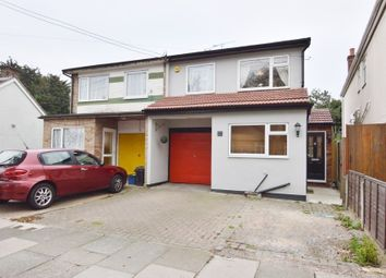 Thumbnail 3 bedroom semi-detached house for sale in South Crescent, Southend-On-Sea