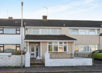 Thumbnail 3 bed link-detached house for sale in Moorland Crescent, Beddau, Pontypridd