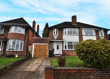 Thumbnail 3 bed semi-detached house to rent in Colebourne Road, Billesley, Birmingham