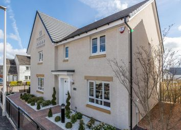 "Thumbnail 3 bed semi-detached house for sale in ""Traquair"" at Mavor Avenue, East Kilbride, Glasgow"