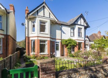 Thumbnail 3 bed semi-detached house for sale in Church Road, Lyminge, Folkestone