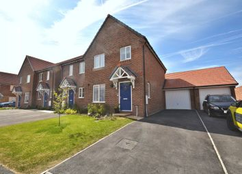 Thumbnail 3 bed semi-detached house for sale in Fen Violet Drive, Didcot