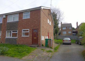 Thumbnail 2 bedroom maisonette to rent in Allington Avenue, Nottingham