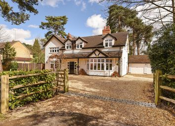 Thumbnail 5 bedroom detached house for sale in New Wokingham Road, Crowthorne, Berkshire