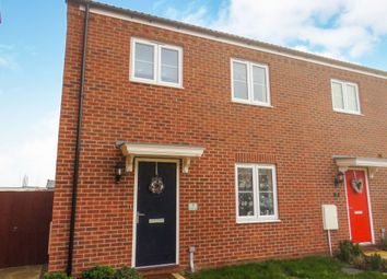 Thumbnail 3 bedroom end terrace house for sale in Waveney Close, Spalding