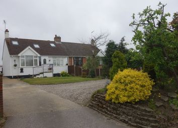 Thumbnail 3 bedroom semi-detached bungalow for sale in Gorleston Road, Oulton, Lowestoft