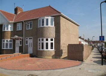 Thumbnail 3 bed end terrace house for sale in St. Crispins Close, Southall