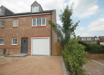 Thumbnail 4 bedroom semi-detached house for sale in The Cloisters, Wood Street, Earl Shilton, Leicester