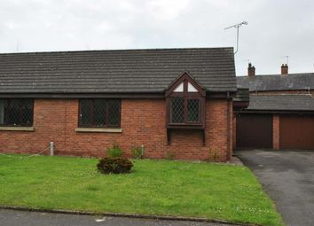 Thumbnail 1 bed semi-detached bungalow to rent in Waterside Close, Whitchurch, Shropshire