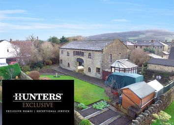 Thumbnail 4 bed detached house for sale in Skipton Road, Cross Hills, Keighley