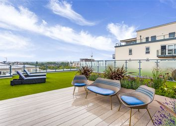 Thumbnail 2 bed flat for sale in Curtiss House, 27 Heritage Avenue, London