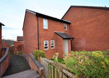 Thumbnail 3 bed end terrace house to rent in Brecknock Court, Leegomery, Telford