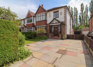 Thumbnail 3 bedroom semi-detached house for sale in Nevill Road, Bramhall, Stockport
