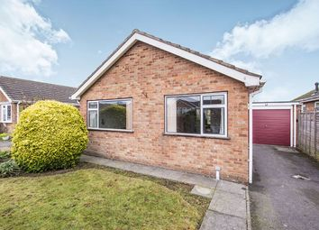 Thumbnail 2 bed bungalow for sale in Sutton Close, Hinckley