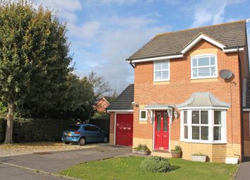 Thumbnail 3 bed detached house to rent in Jordan Close, Didcot