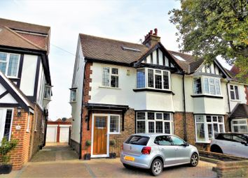 Thumbnail 4 bed semi-detached house for sale in Chelston Avenue, Hove