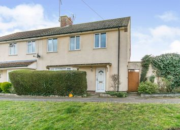 Thumbnail 3 bed semi-detached house for sale in Carmarthen Close, Ipswich