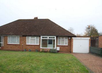 Thumbnail 2 bed semi-detached bungalow for sale in Derwent Drive, Petts Wood, Orpington, Kent