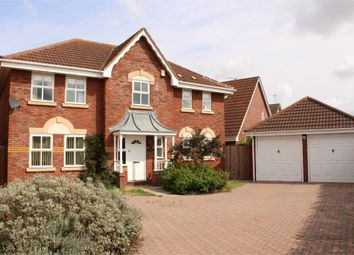 4 bed detached house for sale in Lavender Close, Lutterworth LE17