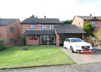 Thumbnail 4 bed detached house for sale in Southfield Close, Scraptoft, Leicester, Leicestershire