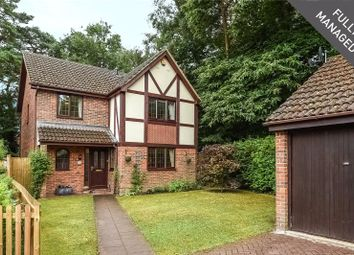 Thumbnail 4 bed detached house to rent in Holme Close, Crowthorne, Berkshire