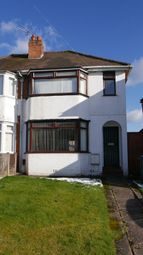 Thumbnail 3 bed semi-detached house for sale in Parkdale Road, Sheldon, West Midlands