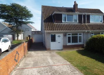 Thumbnail 3 bed semi-detached house for sale in 21 Beaufort Drive, Kittle, Swansea
